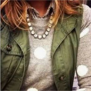 Stella & Dot Vintage Crystal Necklace